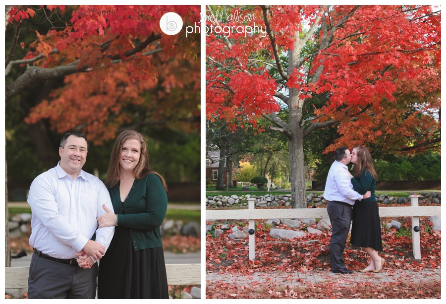 fall wedding photos wayside inn sudbury