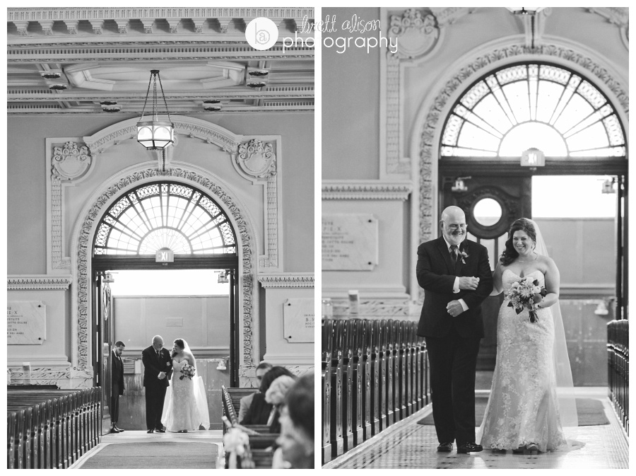 black and white church wedding images massachusetts