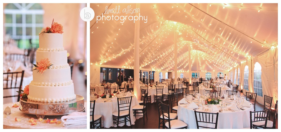 tent wedding reception photos zukas hilltop barn