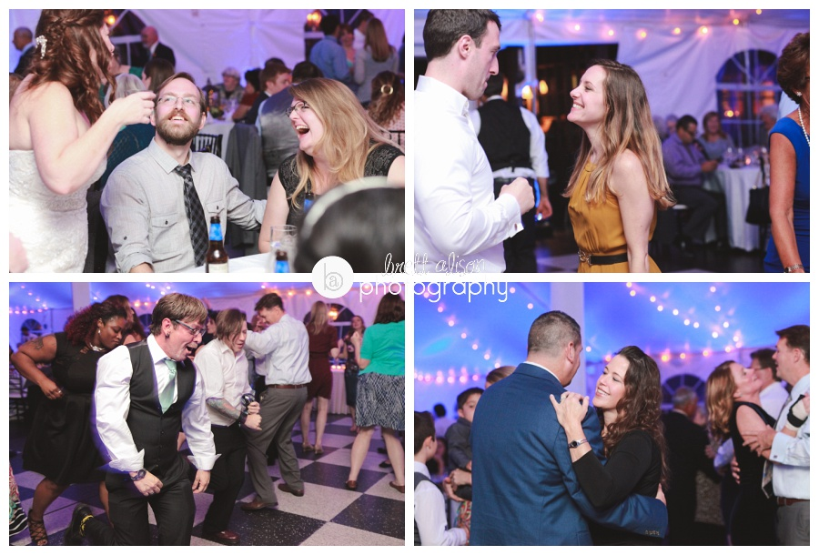 dancing wedding reception photos zukas hilltop barn